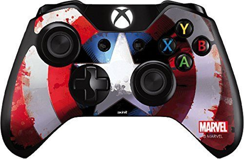 Cool Looking Captain America Shield - Skin for Xbox One - Controller. Buy Now for cheap price - Visit to grab an amazing super hero shirt now on sale!