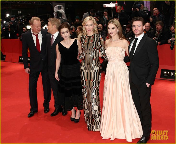 richard madden jenna coleman cinderella berlin premiere 07 Richard Madden keeps close to his real life Cinderella, longtime girlfriend Jenna Coleman as they arrive at the 2015 Berlin International Film Festival premiere…