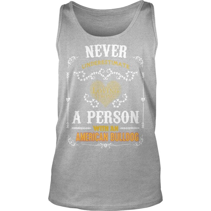 American #Bulldog Power A Person With An American #Bulldog, Order HERE ==> https://www.sunfrog.com/Pets/124214907-696619062.html?6782, Please tag & share with your friends who would love it, #xmasgifts #renegadelife #birthdaygifts