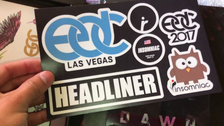 EDC Las Vegas 2017 || Tickets + Collectable Magnet unbo…