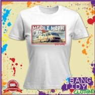 Mobile Meth Lab Breaking Bad Walter White Womens T Shirt
