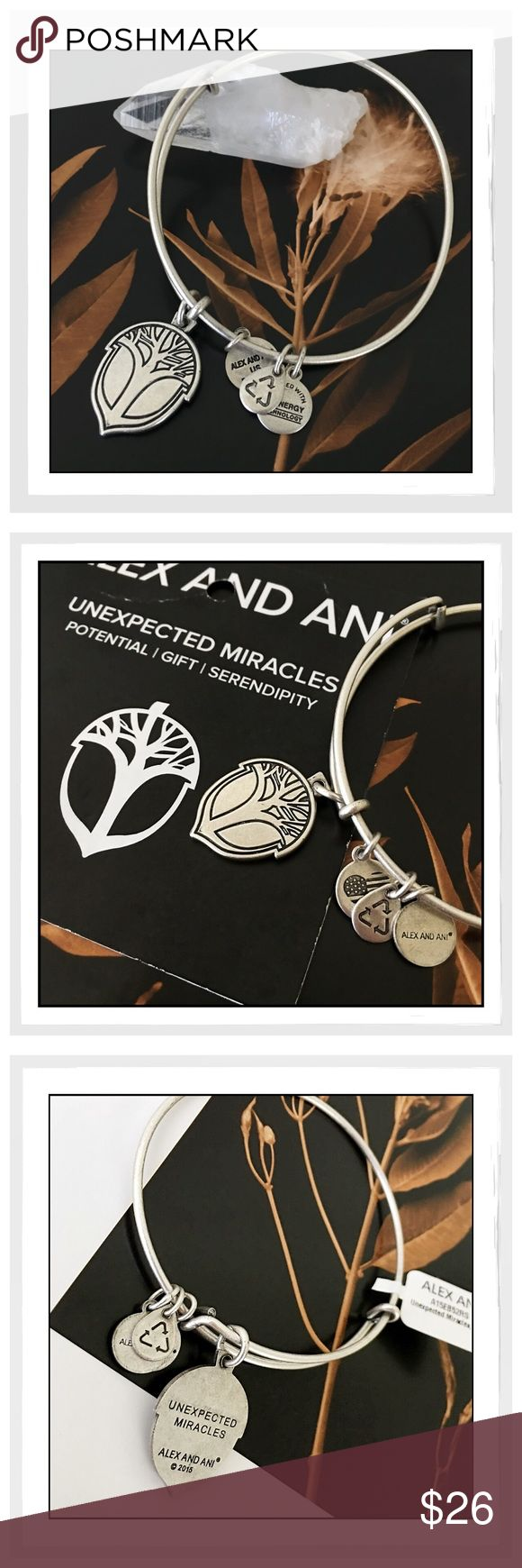 ✨Alex & Ani Unexpected Miracles Bracelet✨ ✨Alex & Ani Unexpected Miracles Bracelet✨This Is The Original Unexpected Miracles Bangle In Rafaelian Silver Finish✨Brand NEW with Tags✨This is a Discontinued Style✨Expandable To Fit Most Wrists✨Comes With Energy Card✨ Alex & Ani Jewelry Bracelets