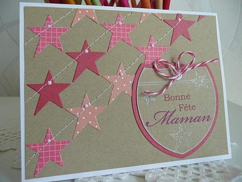 Garence  Carte fête des mères