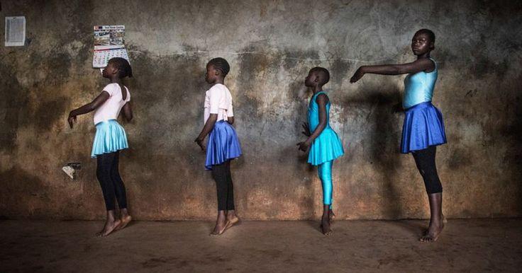 Le plus grand bidonville d'Afrique de l'Est sublimé par les photos de son école de ballet