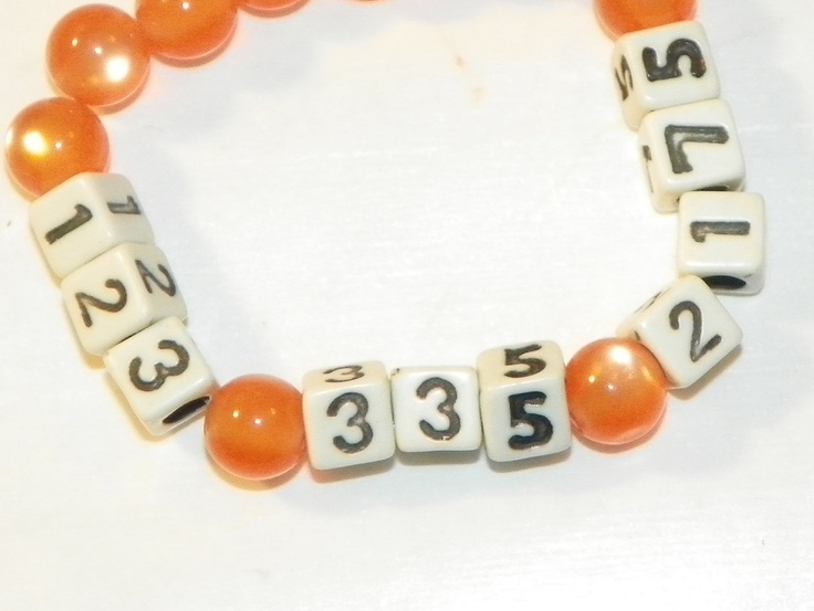 1000 Ideas About Phone Number Bracelet On Pinterest