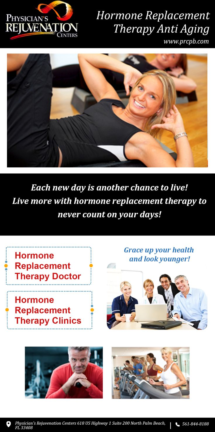 For pleasures, healthier living and peace of mind hormone replacement therapy anti-aging is the best solution. Now lead life in a fancier manner and not as customary like old and aged. Consult trustable physicians for help or log on to www.prcpb.com