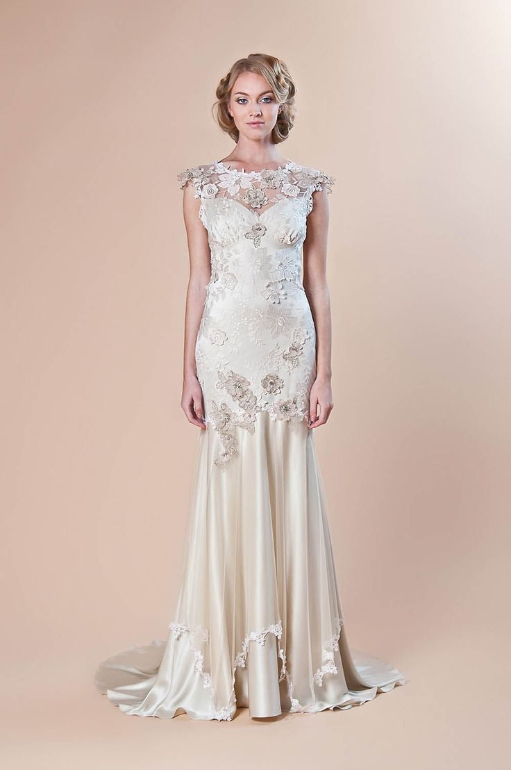 Vintage wedding dresses from the 1920s 18 1920s wedding for Wedding dresses in the 1920s