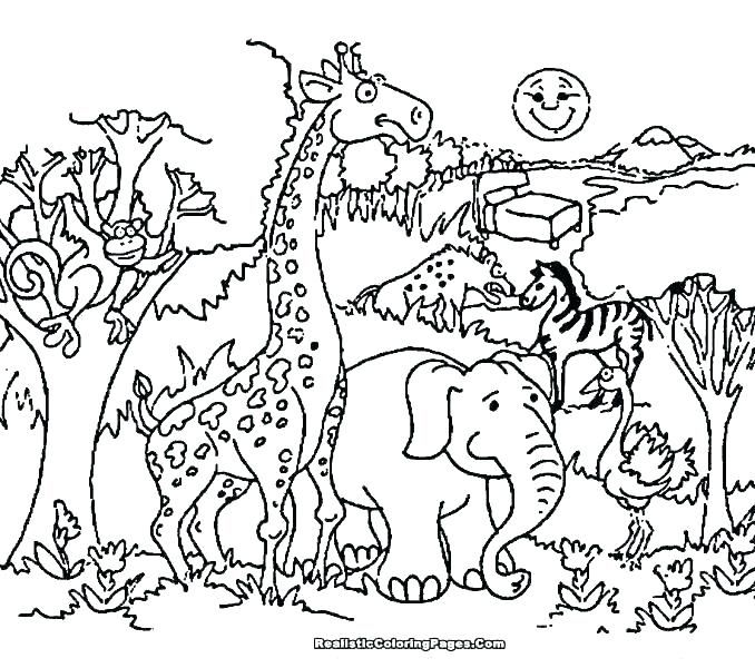 Free Printable Farm Animal Coloring Book Children Pages Of Animals