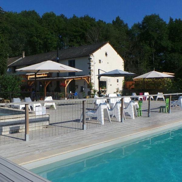 Moulin des Jarasses   Familiecamping Frankrijk