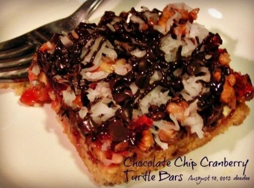 Cranberry Turtle Bars - Dee Dee's | Recipe | Turtle Bars, Turtles and ...