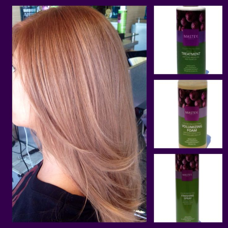 Level 5/6 . Teinture .Roots 6.9 1 oz+ 20 v . Rest of hair 7.9 1 1/2 oz + 30 v. 45 min . Blend it all Toguether on the last 5 min . Shampoo and conditioner from Mastey Color Protecting Line . CG 15 min . Rinse well , use cond , do not shampoo . Finnish w volumizing Foam , leave in oil treatment and finishing Spray . Www.mastey.com