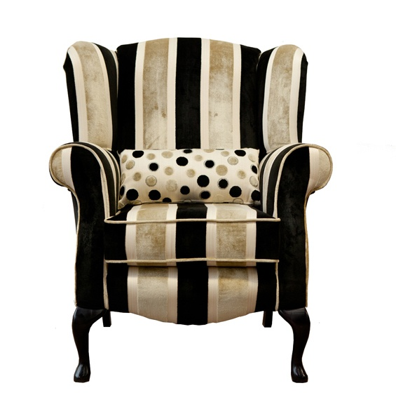 The Queen Anne Chair is a classic, ever popular style. It's a compact design with a high back for extra support.