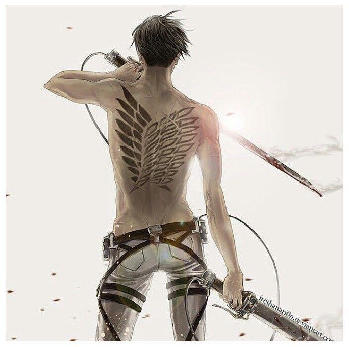 206 best shingeki no kyojin images on pinterest for Attack on titan tattoo
