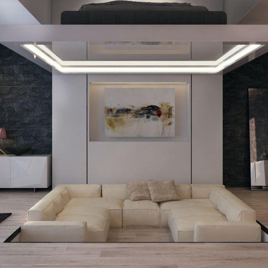 Le Bijou luxury design living room
