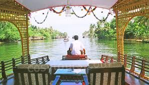 Houseboat, Kuttanad, Kerala, India
