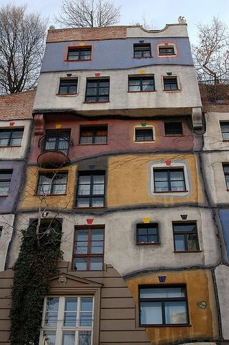 Hundertwasser House, Vienna, Austria by _Zinni_, via Flickr