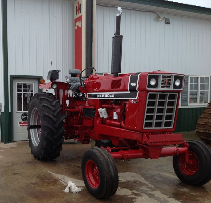 International 766 Tractor Sold on ELS! - YouTube