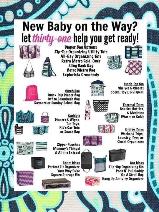 Awesome baby gift ideas from Thirty-One~!!  www.mythirty-one.com/DeeCooper