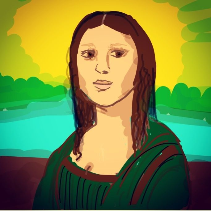 how to draw the mona lisa youtube