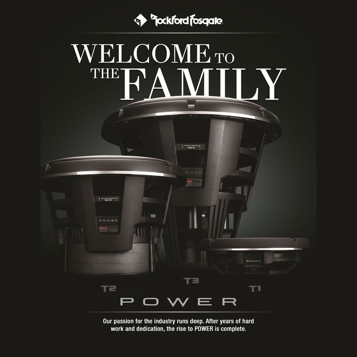 """Power T3 19"""" subwoofer is now available. Please contact your local authorized Rockford Fosgate dealer."""