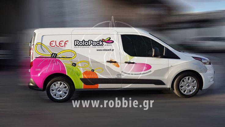 Rolopack / Σήμανση οχημάτων // #Μερική_Κάλυψη #Σήμανση_Οχημάτων #Ψηφιακές_Εκτυπώσεις #robbieadv