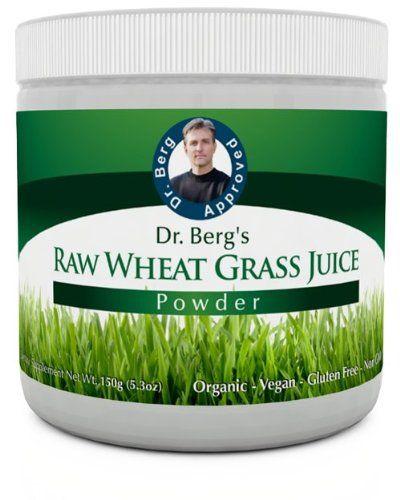 Raw Organic Wheat Grass Juice Powder - Green Super Food - 92 Minerals 20 Amino Acids - Amazing Smooth Taste - No Gluten - Non-GMO - 5.3 oz