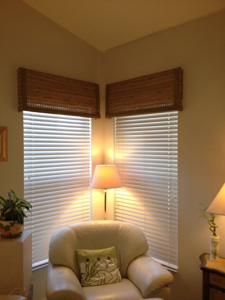 Faux Wood Blinds With Woven Wood Valances Yelp Livingroom Pinterest Wood Valance Photos And Valances