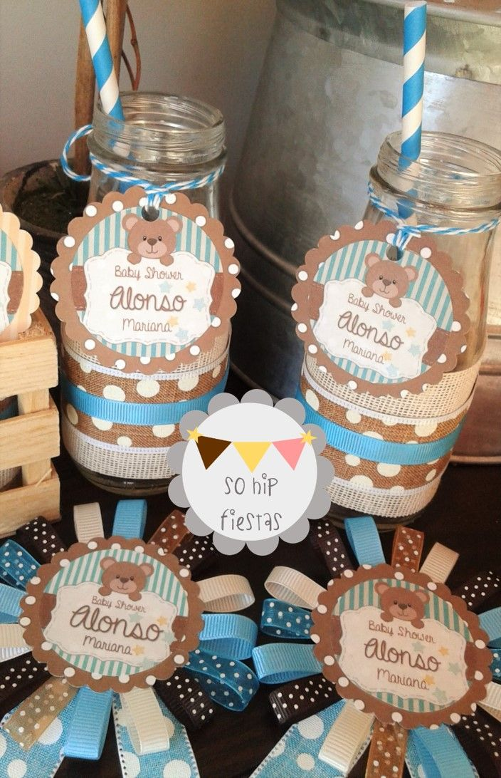 "So Hip Fiestas: Tierno Baby Shower con tema de ""Osito Teddy"""