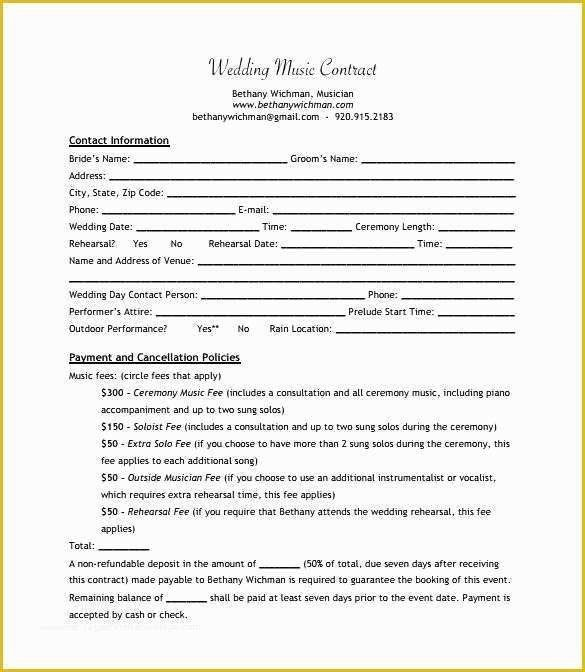 30 Record Label Contract Template In 2020 Contract Template