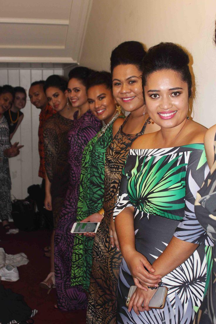 Polynesian modes backstage in MENA