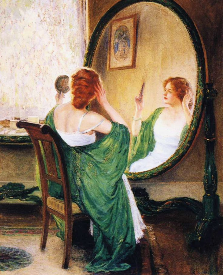 The Green Mirror, Guy Rose (3 March 1867–17 November 1925) was an American Impressionist painter who is recognized as one of California's top impressionist painters of the late 19th and early 20th centuries.