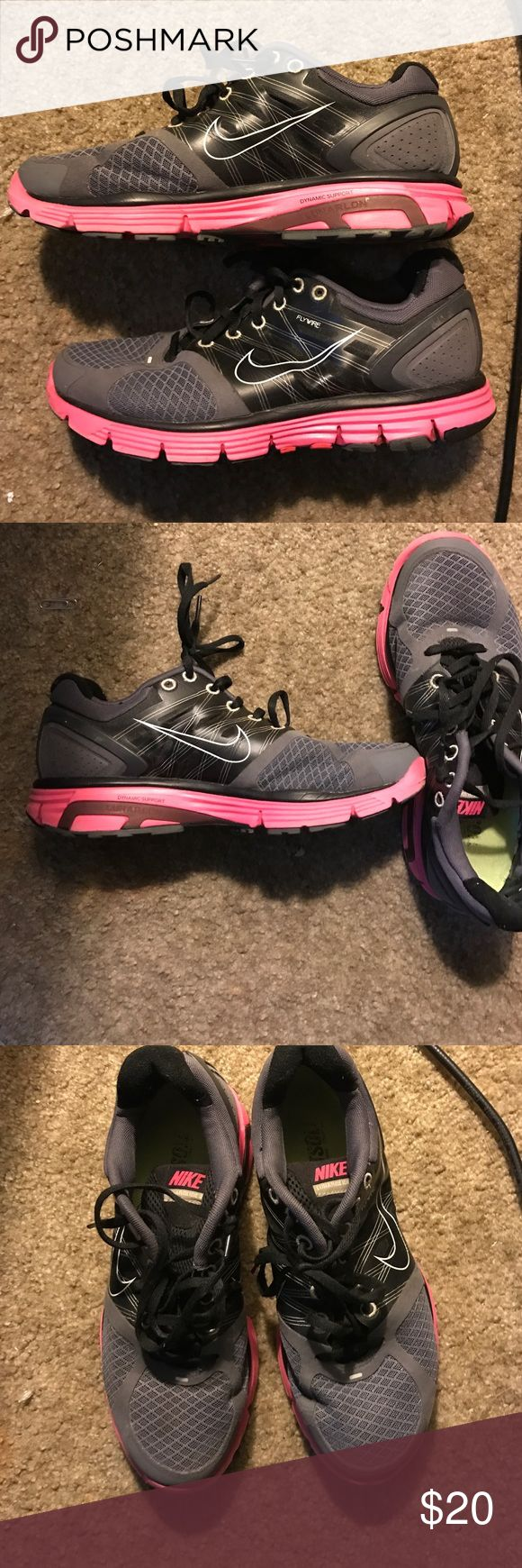 Like new Nike lunarglide 2 In great shape not really worn in at all Nike Shoes Sneakers