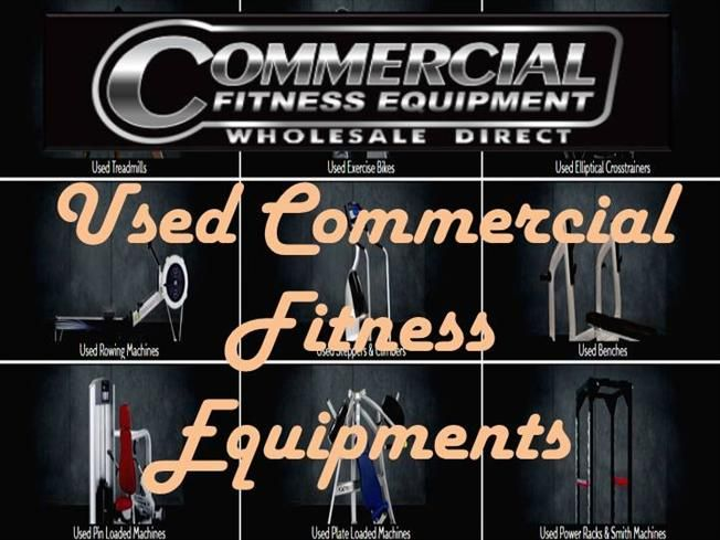Used Commercial Fitness Equipments in Australia by Marcricci via authorSTREAM