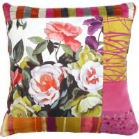 Albert Cushion #patchworkcushion #patchwork by Suzy Newton