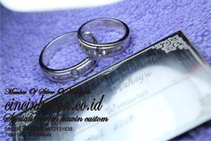 cincin nikah palladium 95 dan emas putih
