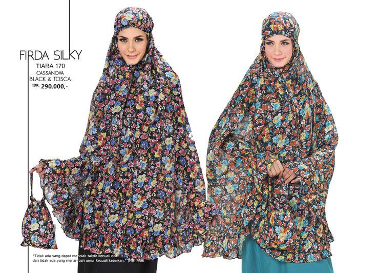 Firda Silky - Tiara 170 Cassanova  Black & Tosca AVAILABLE only IDR 290.000,-