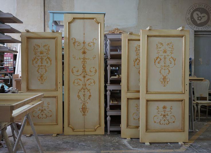 Oltre 25 fantastiche idee su interni in legno su pinterest progetti d 39 interni in legno - Porte decorate antiche ...
