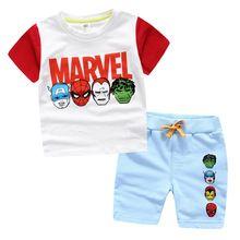 Marvel Comic Spiderman Superman meninos traje crianças meninos Fantasia Fantasia Fantasia do super herói carnaval Casual crianças roupas de verão definido //Price: $US $13.51 & FREE Shipping //    #civilwar #thor #hulk #antman #marvel