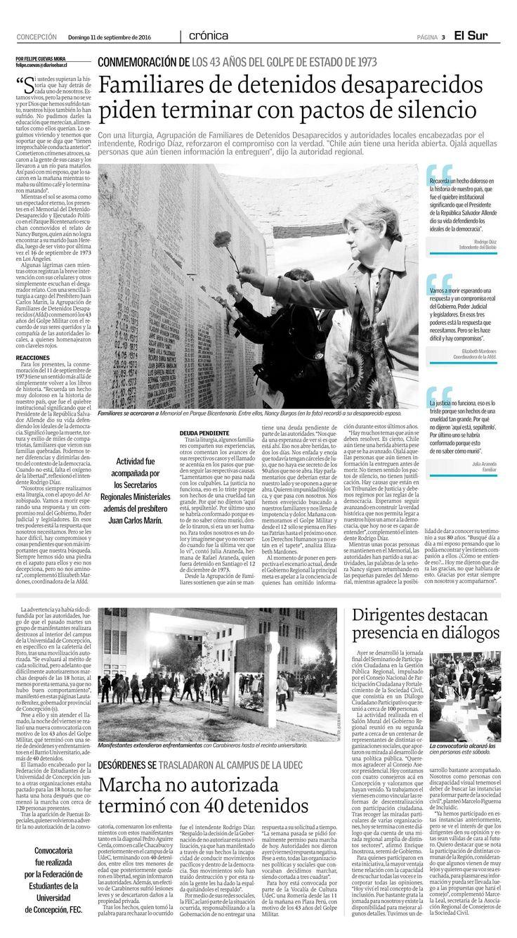 Página 3 | El Sur - 11.09.2016