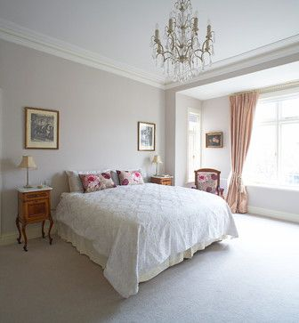 Farrow & Ball Cornforth White walls...calm < used this in bedroom and living room. Lovely