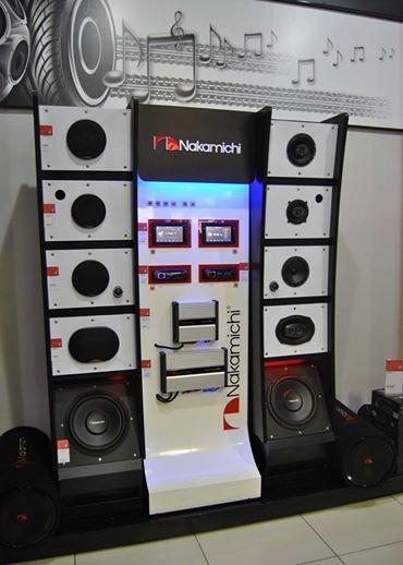 "#JUSTIN  Ignite your senses with Nakamichi SA's stand at Hi-Fi Corporation Boksburg.  Have a look and ""Be Proud To Own One!""   #NakamichiSA #CarAudio #InCarEntertainment"