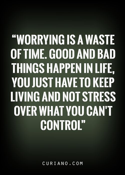 So true! ;) I try to remind myself of this all the time...