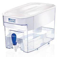 Brita 18 Cup UltraMax Water Dispenser with 1 Filter, BPA Free, White - Walmart.com