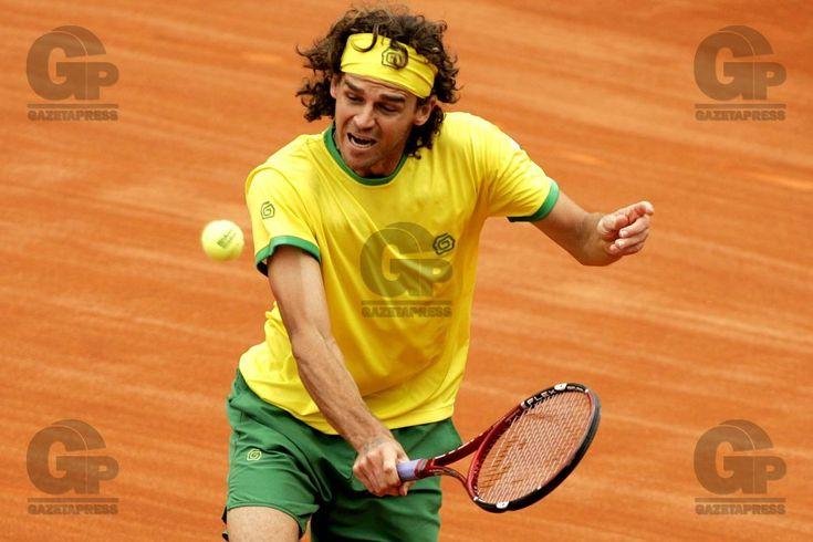 Tênis - Copa Davis 2006 - Brasil x Suécia - 24.Set.2006