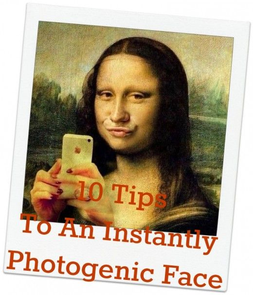 how to make your face more photogenic