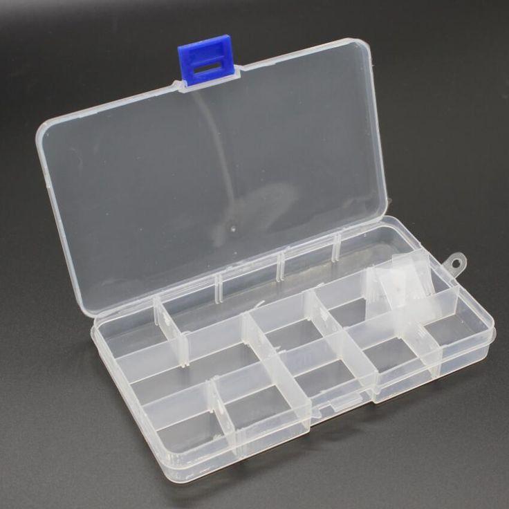 Toolbox Kotak Wadah Plastik untuk Alat Elektronik Kasus SMD SMT Komponen Sekrup Jahit PP Transparan Kotak Penyimpanan