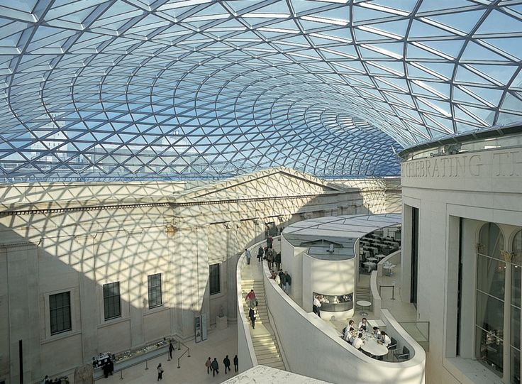 Foster + Partners, Dennis Gilbert, Nigel Young, Richard Bryant, Tim Soar · The Great Court at the British Museum
