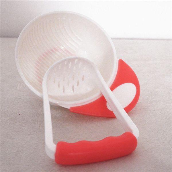 1Pc Baby Food Handmade Grinding Bowl Molienda Tazon Food Supplement Children Infant Food Mills
