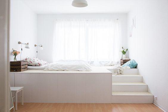 un lit estrade pour gagner de la place   aventure déco
