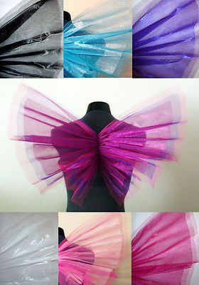 Fairy Wings adult costume pretty princess angel halloween choose color fast ship